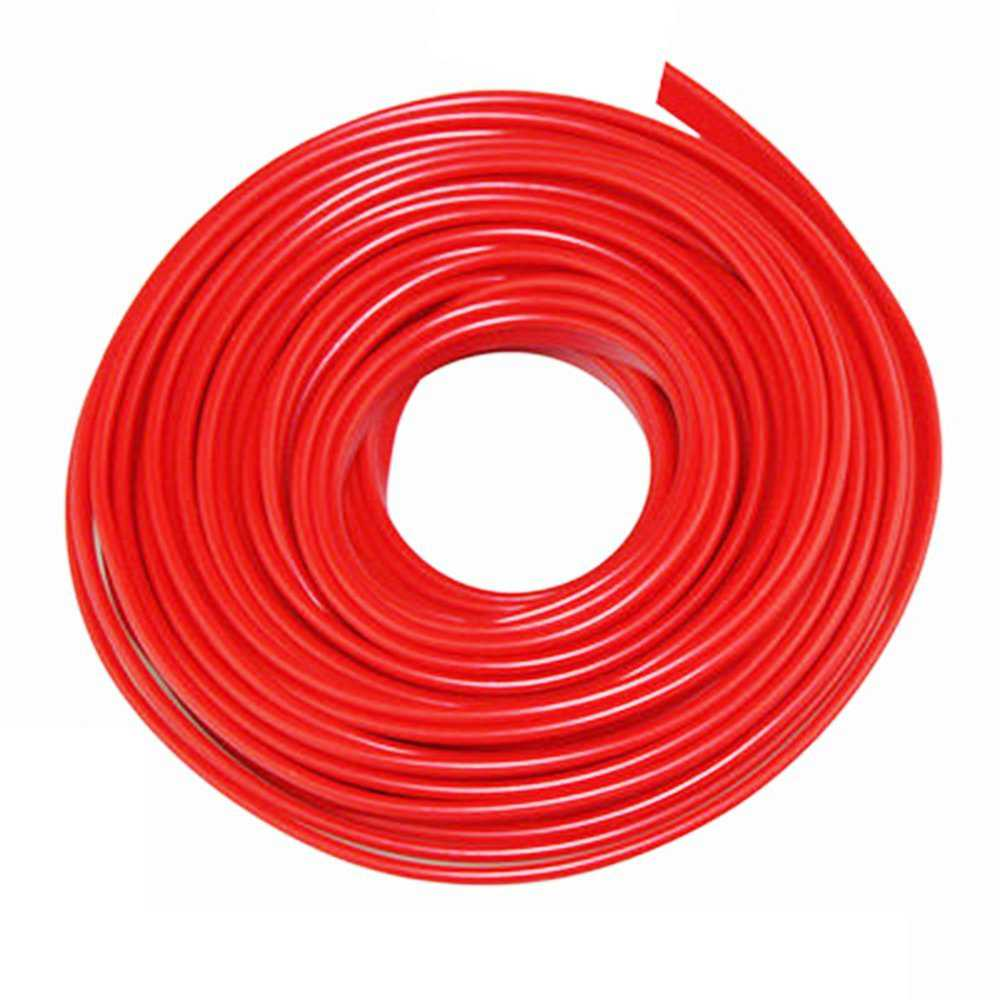 10ft Auto Interior Edge Gap Moulding Trim Door Panel Red Strip Line Decorate