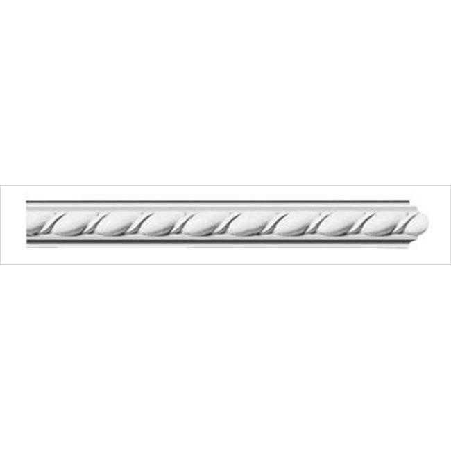 American Pro Decor 5APD10143 96 x 1 in. Ribbon Rope Panel Moulding