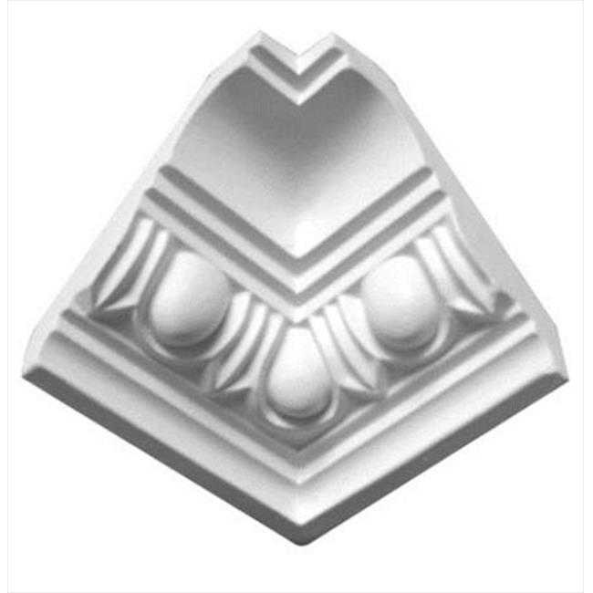 American Pro Decor 5APD10051 2.75 in. Egg And Dart Crown Moulding Inside Corner