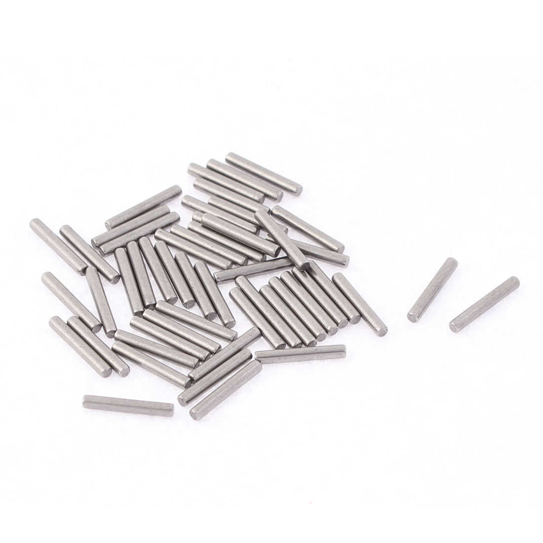 M1.5x10mm Stainless Steel Straight Retaining Dowel Pins Fasten Elements 50pcs