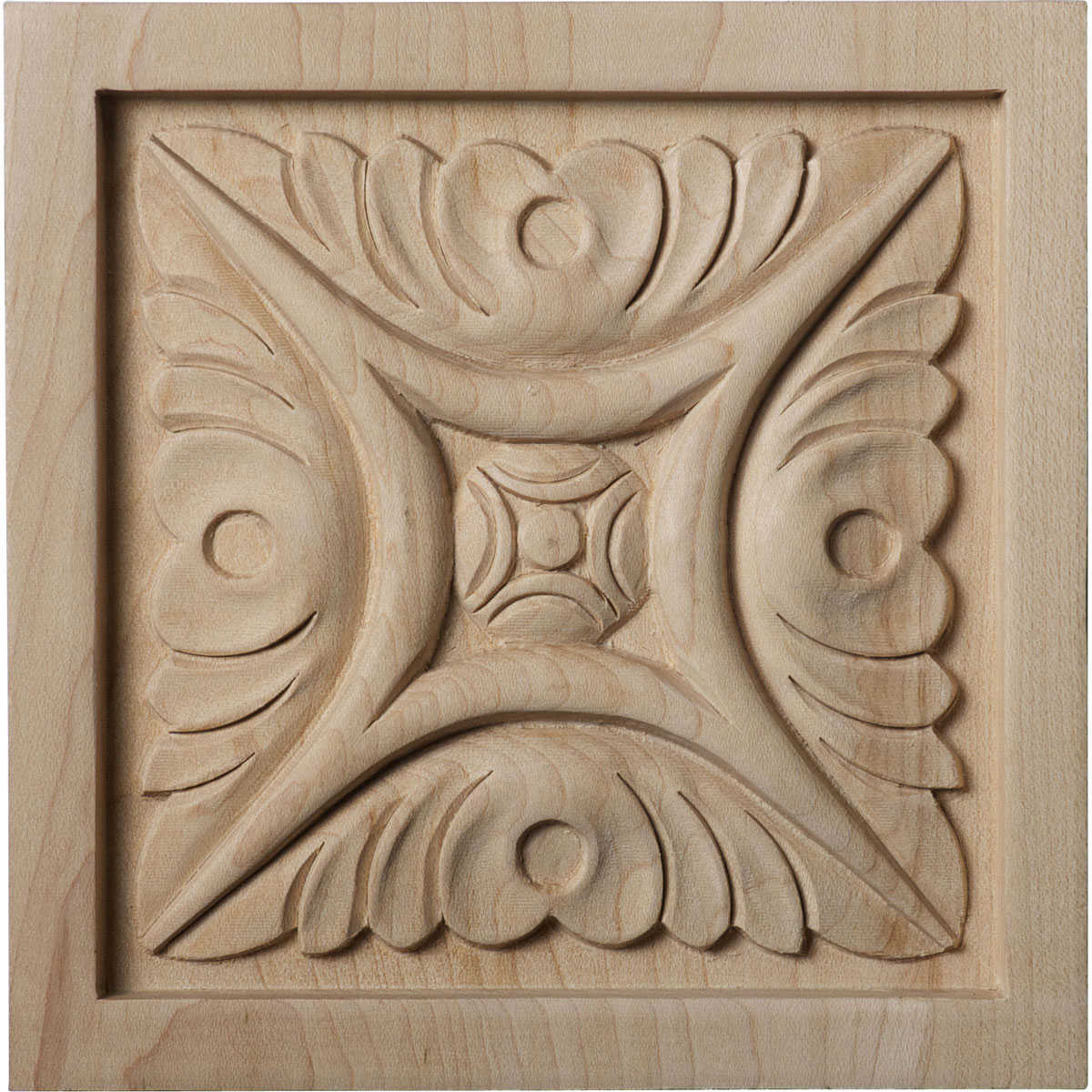 Ekena Millwork Middlesborough 3''H x 3''W x 5/8''D Small Rosette