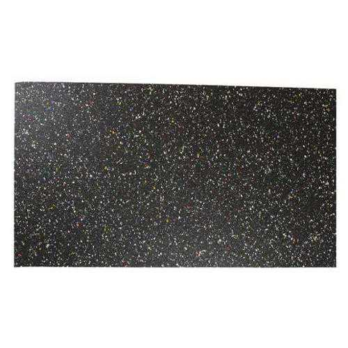 8501-1/4F Recycled Rubber, 1/4 In Thick, 12x48 In