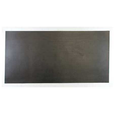 360-3/16B Rubber, Vinyl, 3/16 In Thick, 12 x 24 In