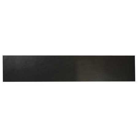 E. JAMES 3/8' Comm. Grade Neoprene Rubber Strip, 4'x36', Black, 40A, 6040-3/8Y