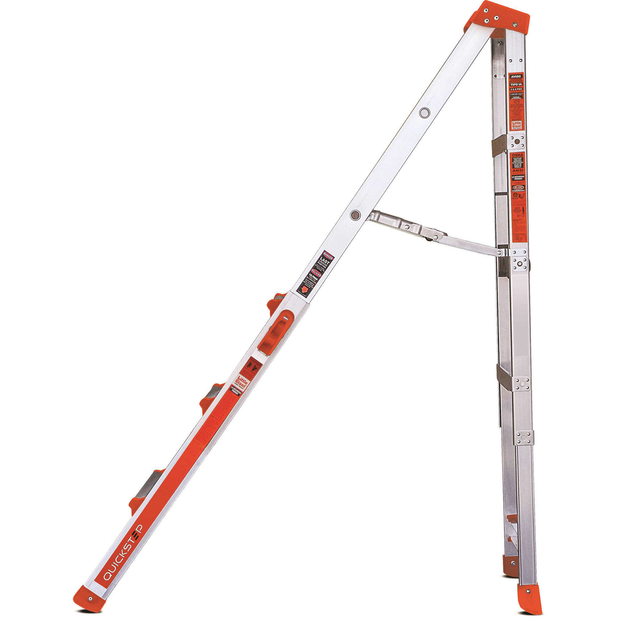 Little Giant QuickStep 4-6 Ft. Step Ladder