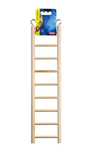 Living World Wood Ladders for Bird Cages 15' High - 9 Step Ladder - Pack of 3
