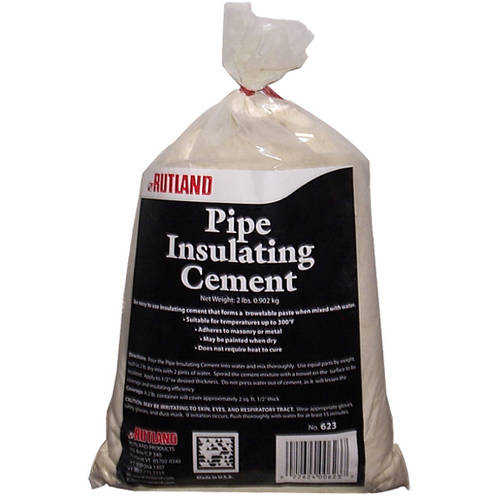 Pipe Insulating Cement Bag, 2 Lb