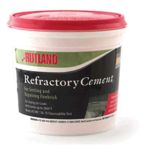Refractory Cement Tub, 128 fl oz