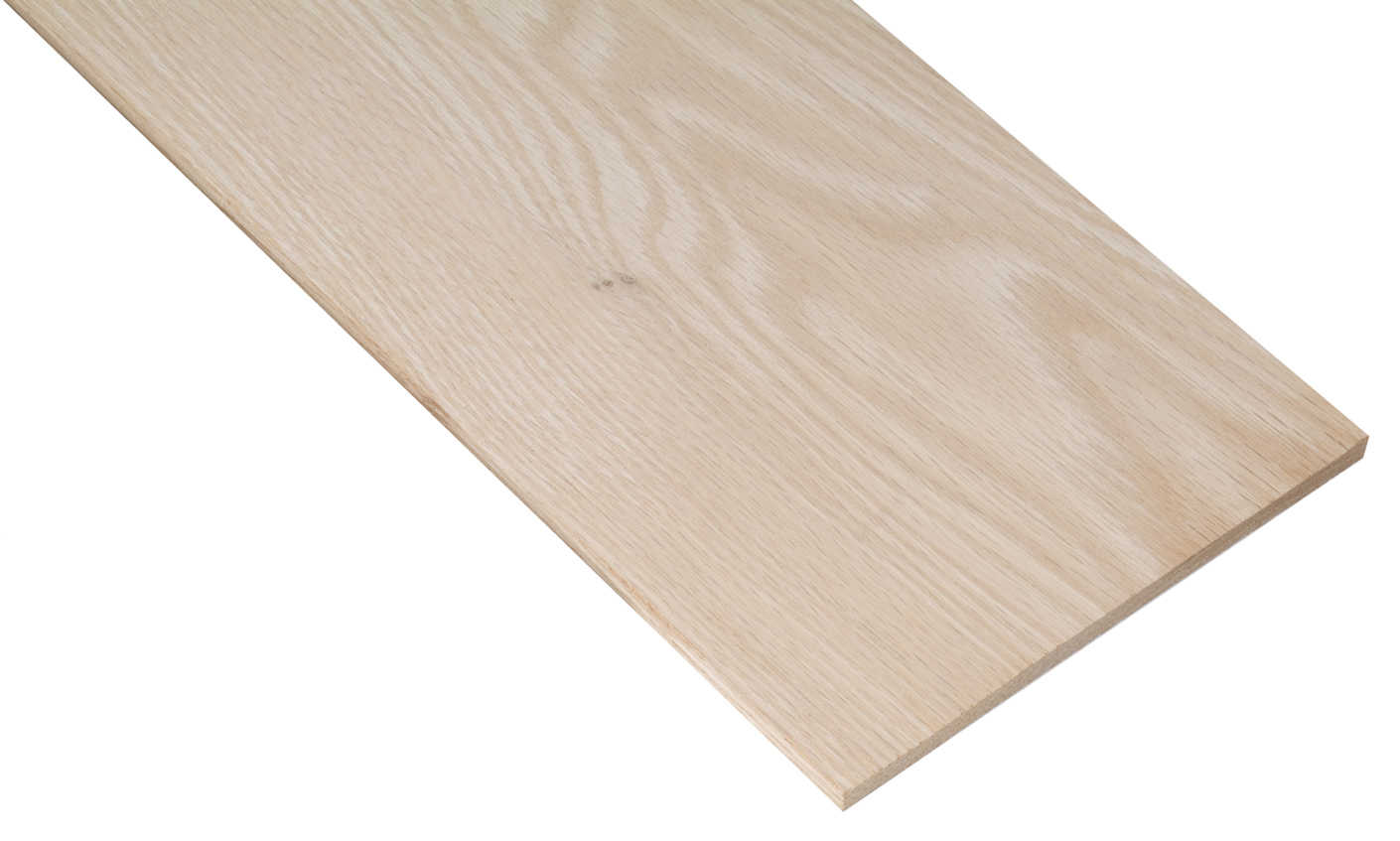 Waddell PB19505 1/4' x 2-1/2' x 48' Oak Project Board