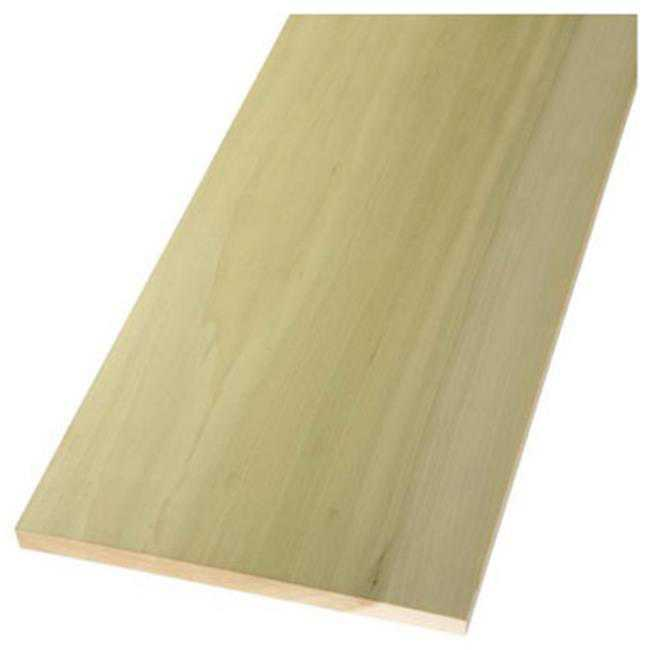 Northwest Hardwoods RH1165 1 in. x 12 in. x 8 ft., Poplar Board