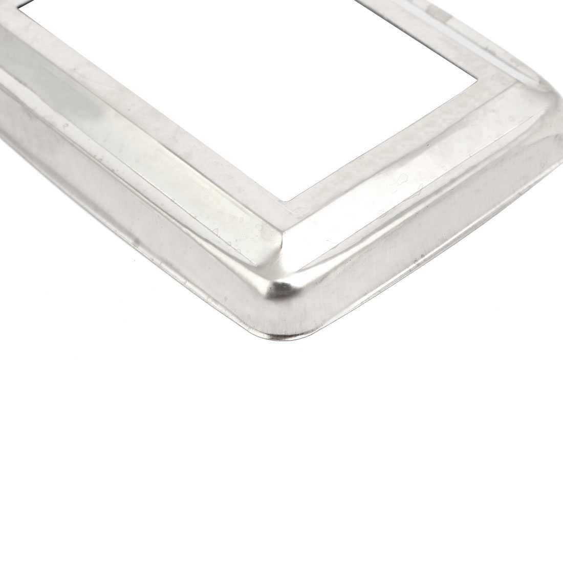 15pcs Ladder Handrail Hand Rail 75mm x 45mm Post Plate Cover 201 Stainless Steel
