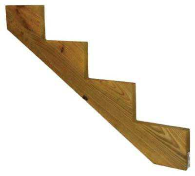 4 Step Stair Stringer #1 G.C Treated. Only One