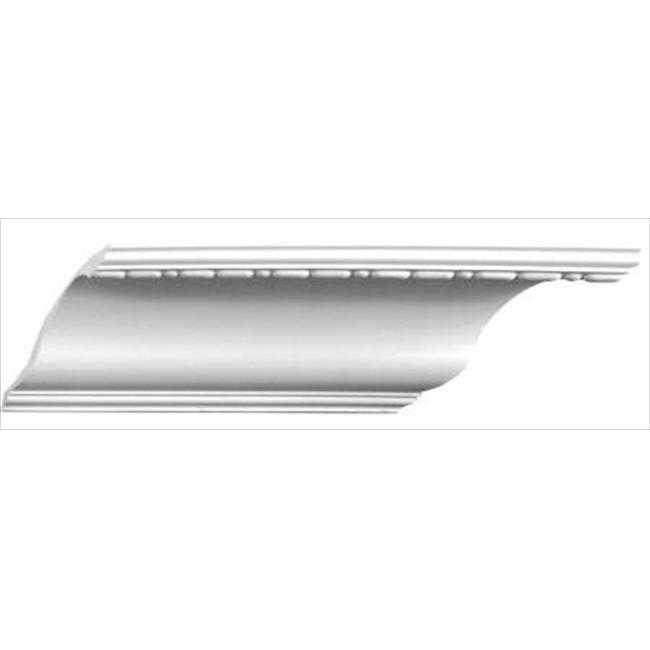 American Pro Decor 5APD10107 94.5 x 7 in. Bead And Barrel Crown Moulding