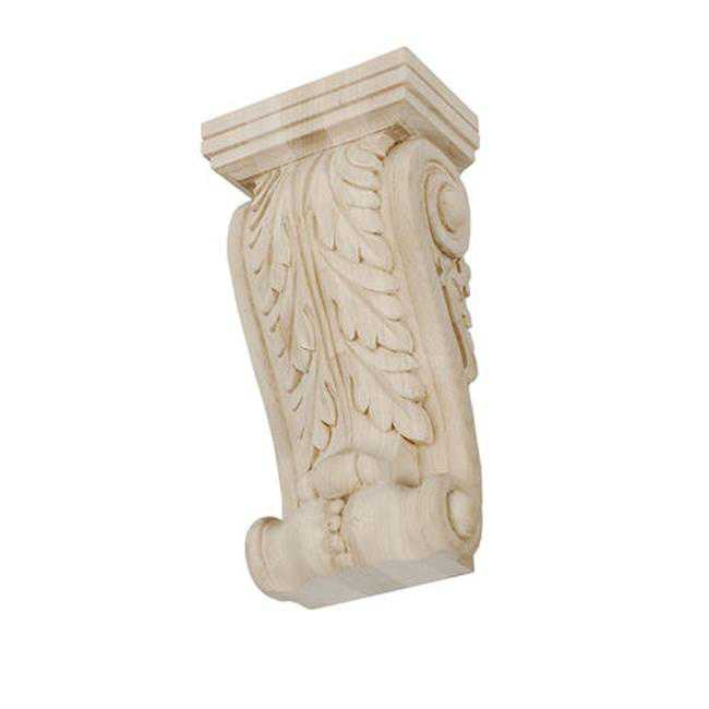 American Pro Decor 5APD10524 Small Carved Wood Corbel