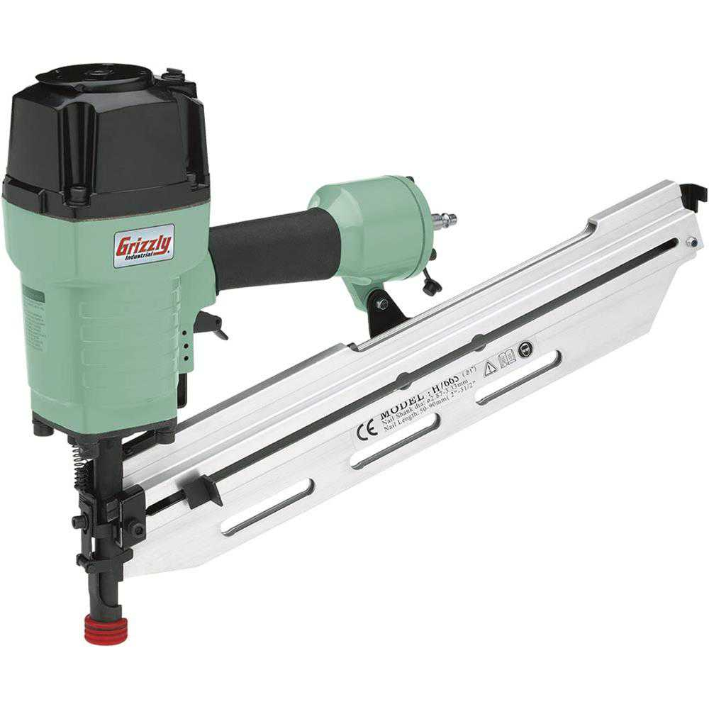 Grizzly H7665 21 Round Head Framing Nailer
