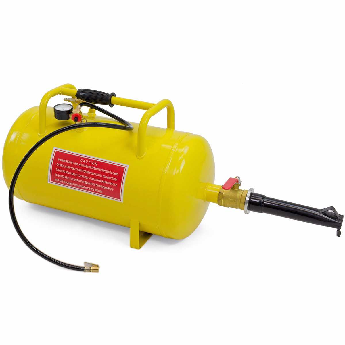 10Gal Tire Inflator Air Tank Bead Seater Breaker Blaster