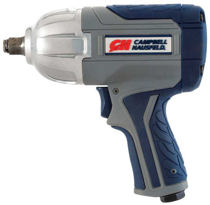 Campbell Hausfeld XT002000 Air Impact Wrench, Composite, 1/2'