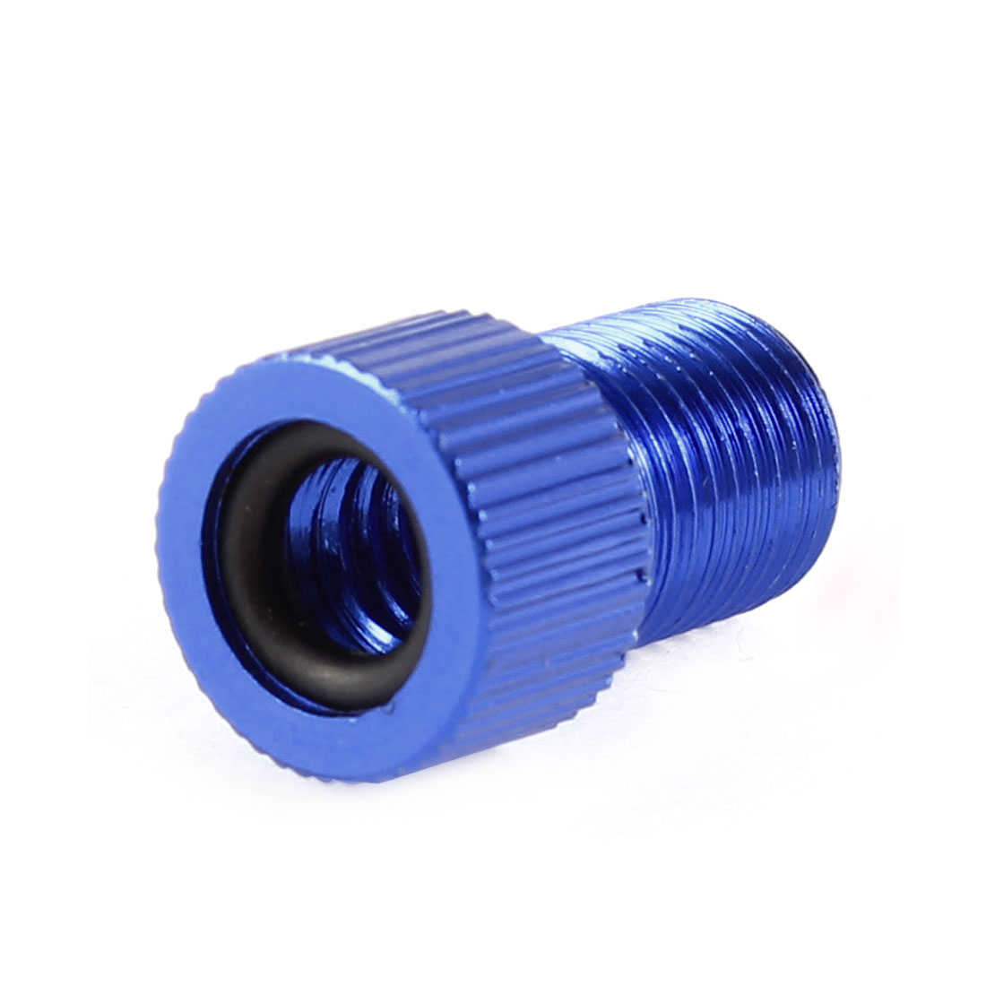 Universal Presta to Schrader Inner Tube Bike Tire Valve Adapter Blue