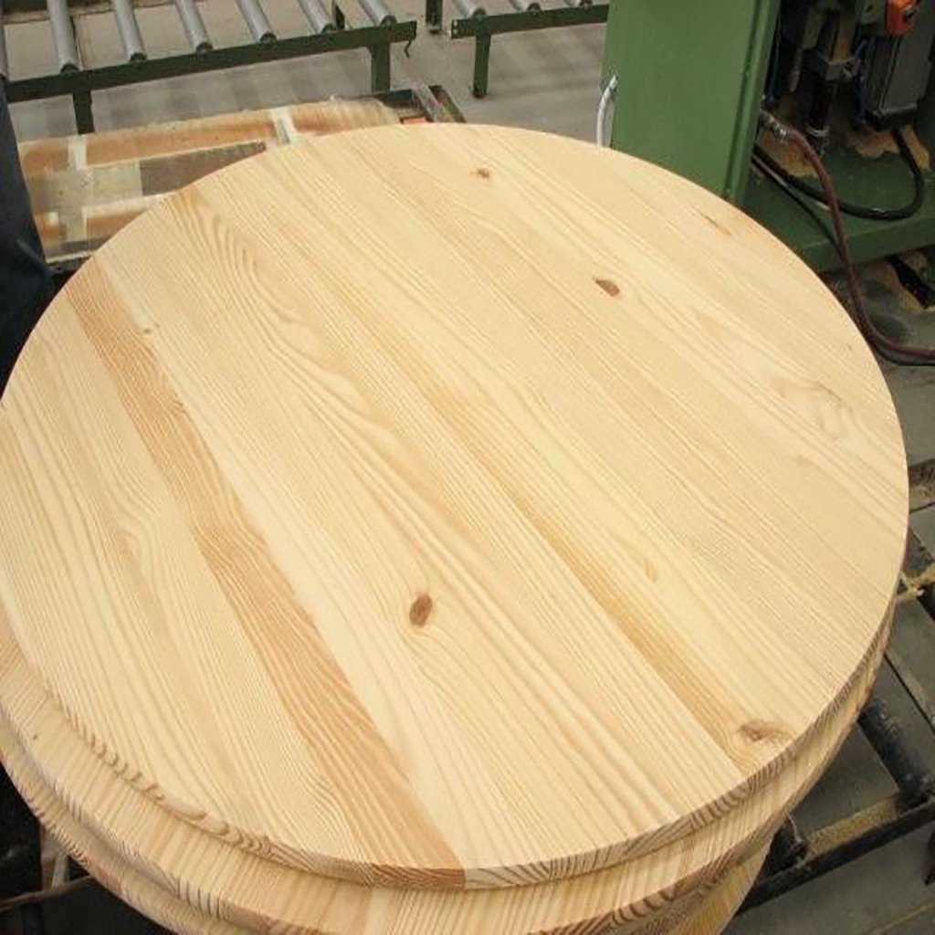 Round Pine Edge-Glued Board 1x24