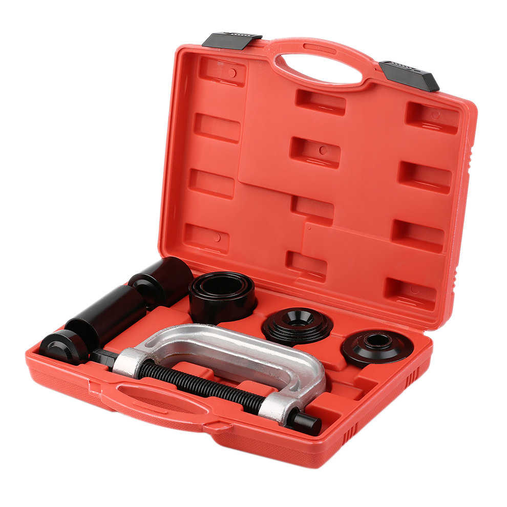 7pcs Ball Joint Auto Remover Installer Tool 2WD & 4WD Vehicles Tools Kit