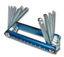 9 Piece Ball Hex Key Set - Metric