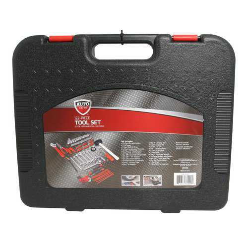Auto Drive 122 Piece Steel Garage Tool Set
