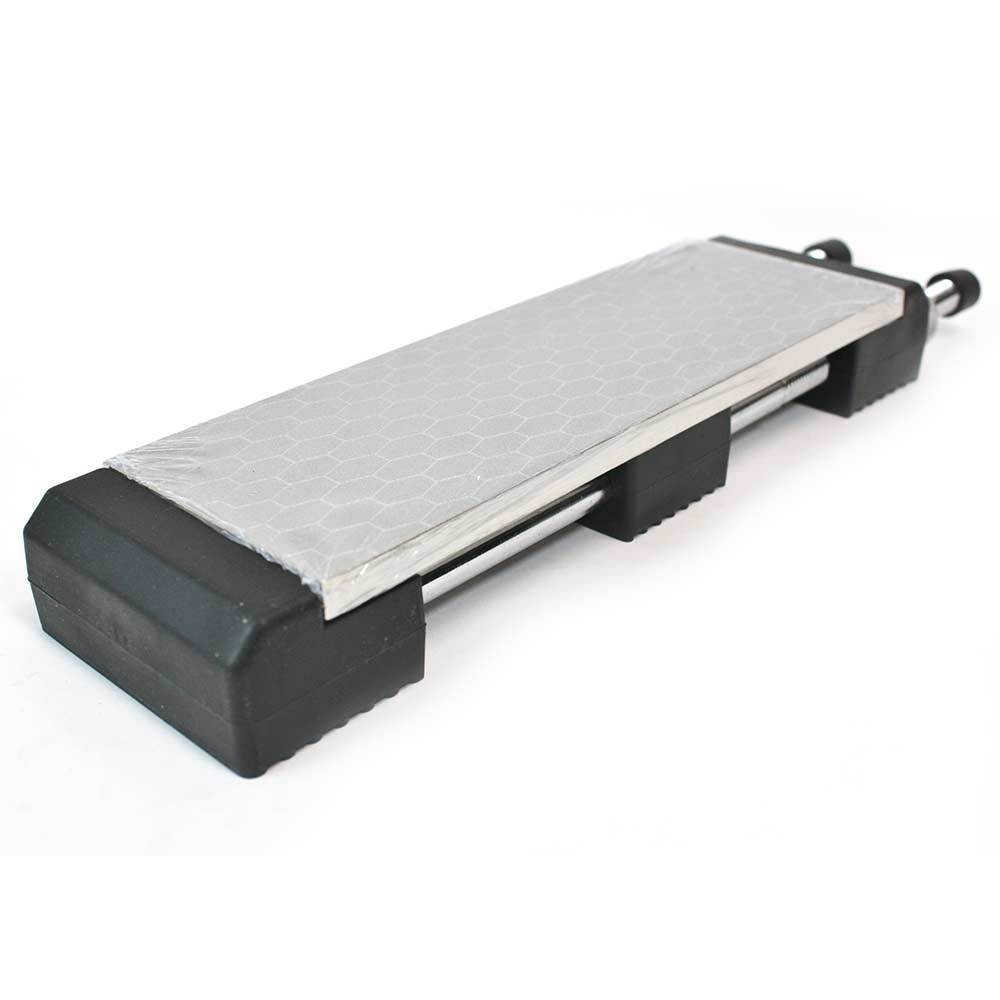 Double Sided Diamond Sharpening Stone 400/1000 Grit with Holder