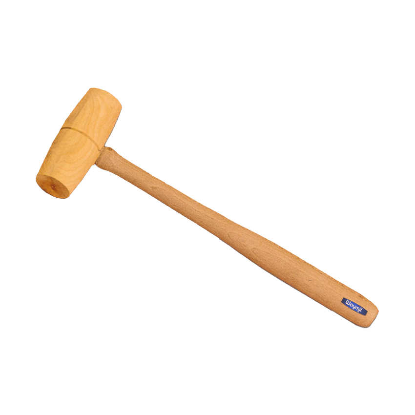 WOOD HEAD HAMMER MALLET 7/8' JEWELRY FOR REMOVING DENTS AND FLATTENING TOOL