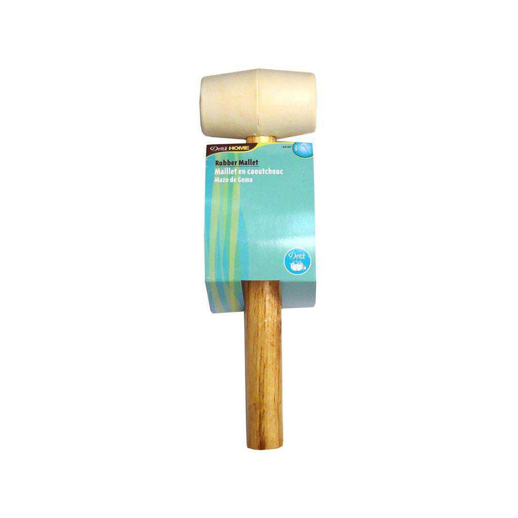Dritz Home Rubber Mallet with Wood Handle
