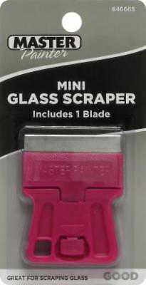 Master Painter Pocket Size Mini Glass Scraper With 1 Blade Only One