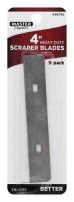 Master Painter 4' Replacement Glass and Tile Scraper Blade 10PK