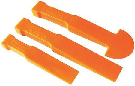 Multi-Wedge 7, Pry Bar Kit, 3 pcs., Non-Sparking, Polyethylene, 3400