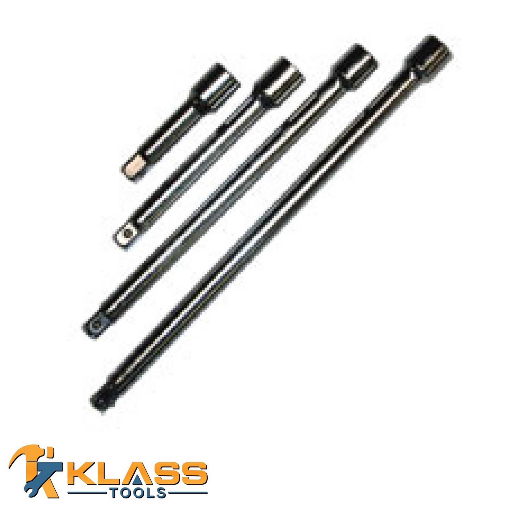4PC 3/8 Extension Bar
