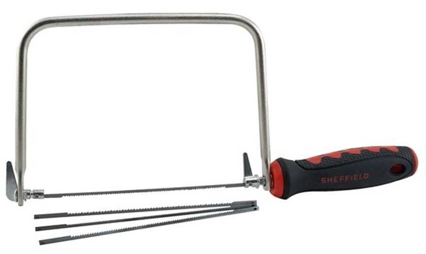 Coping Saw,4-3/4' Sheffield