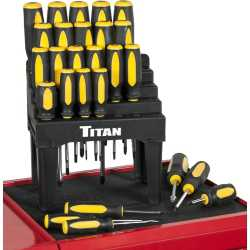 26 Piece Screwdriver Set with Stand