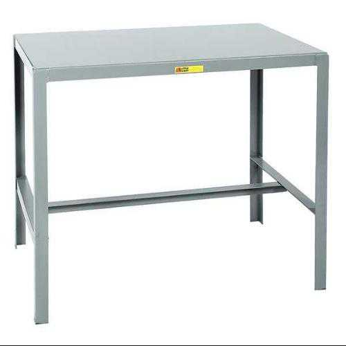 LITTLE GIANT MT1-2448-42 Fixed Work Table,Steel,48' W,24' D G0473229