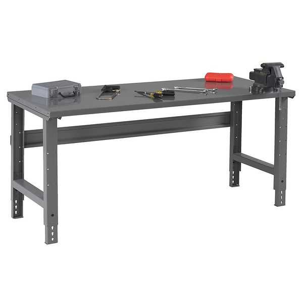 TENNSCO WBA-1-3072S Workbench,Steel,72' W,30' D G5749107