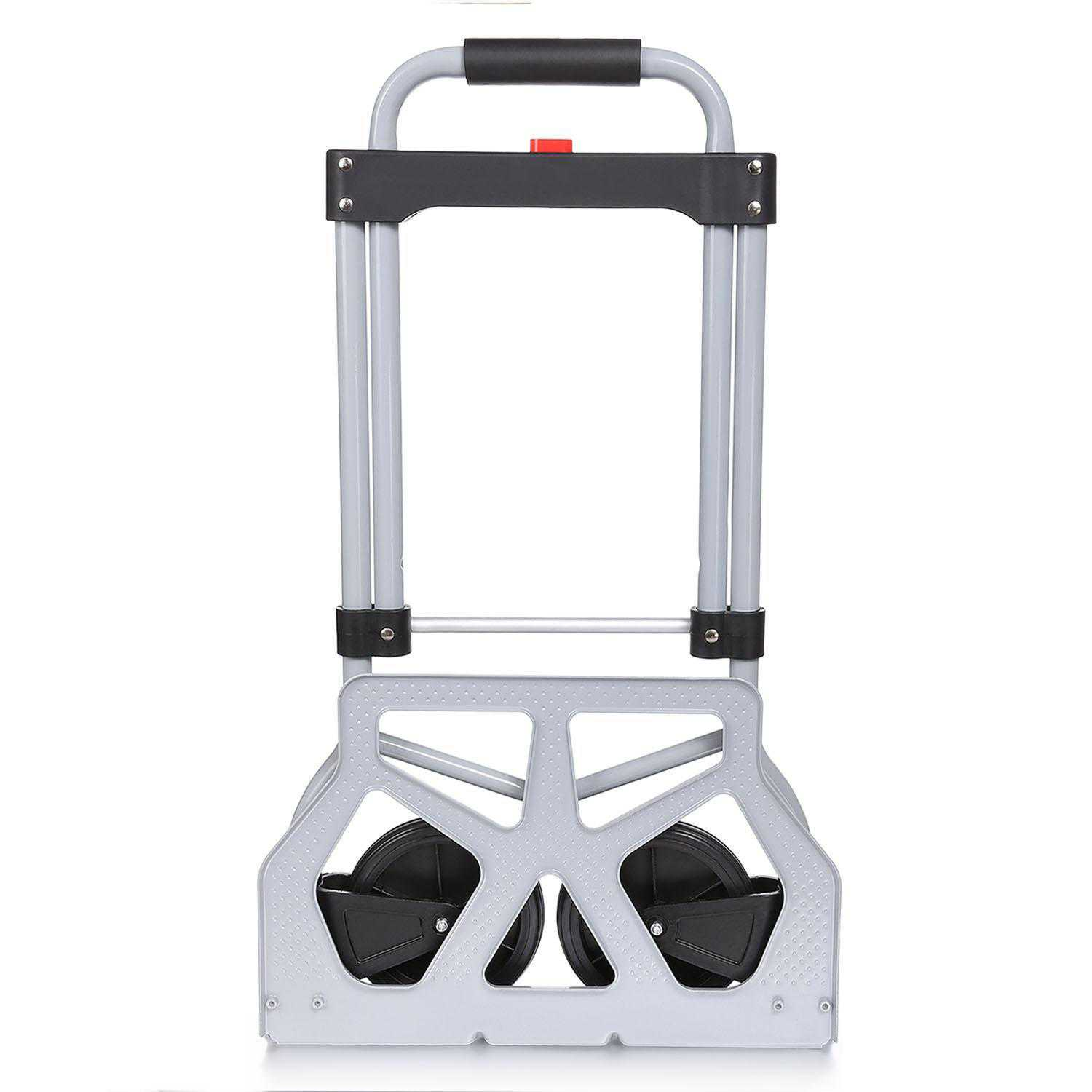 Heavy Duty Folding Hand Truck Luggage Cart (220lb) Dolly shopping Carts For Industrial/Travel/Shopping OCTAP