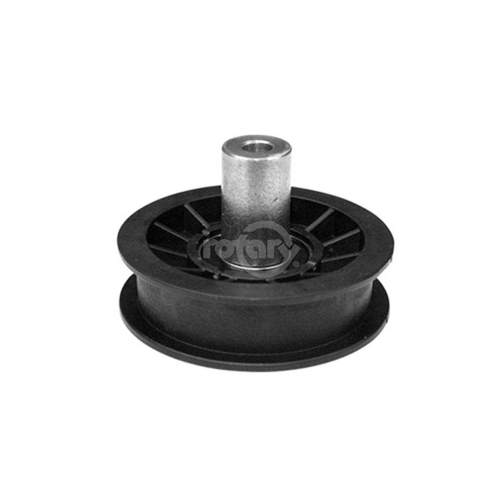 AYP 179114 Flat Idler Pulley. Pulley Flat Width 3/4'.