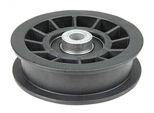 Flat Idler Pulley Replaces John Deere AM115459