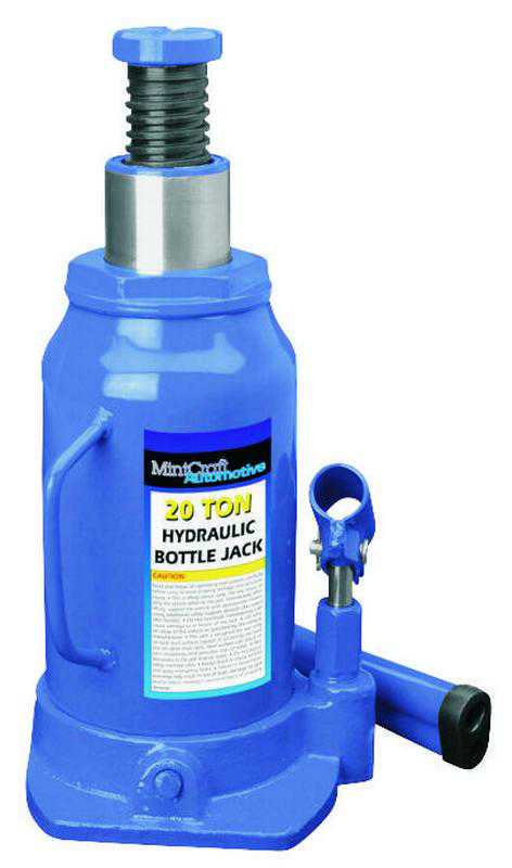 ProSource T010704 Heavy Duty Hydraulic Bottle Jack, 4 ton, 7-5/8 - 14-5/8 in H, Steel