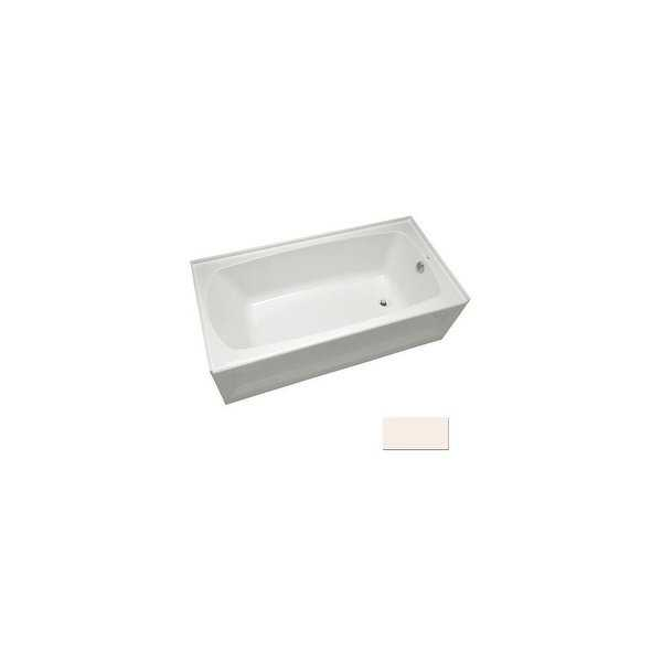 Mirabelle MIRBDS6030R Bradenton 60' x 30' Three-Wall Alcove Soaking Tub with Right Hand Drain - White