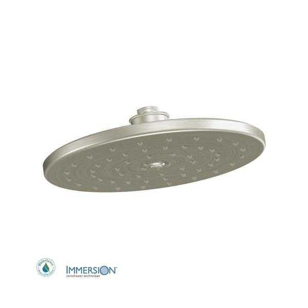 Moen S112EP 10' Rainshower Shower Head with 1.75 GPM Flow Rate from the Waterhill Collection - N/A