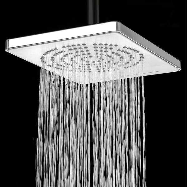 AKDY SH0035 9' Rainfall Shower Waterfall Style Head 2 Setting Multi-Function Contemporary