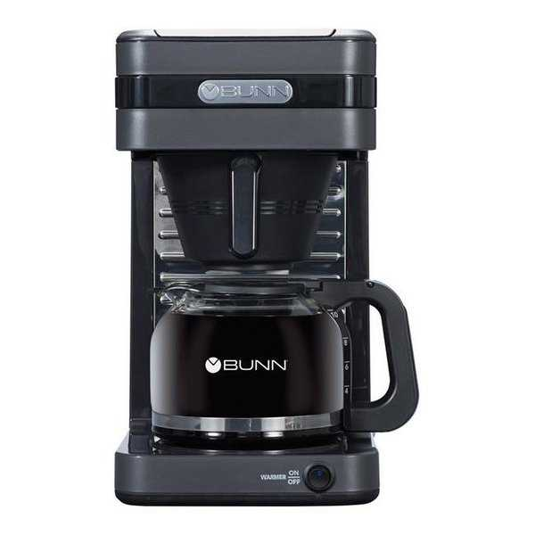 BUNN 6598478 10 Cups Coffee Maker, Gray