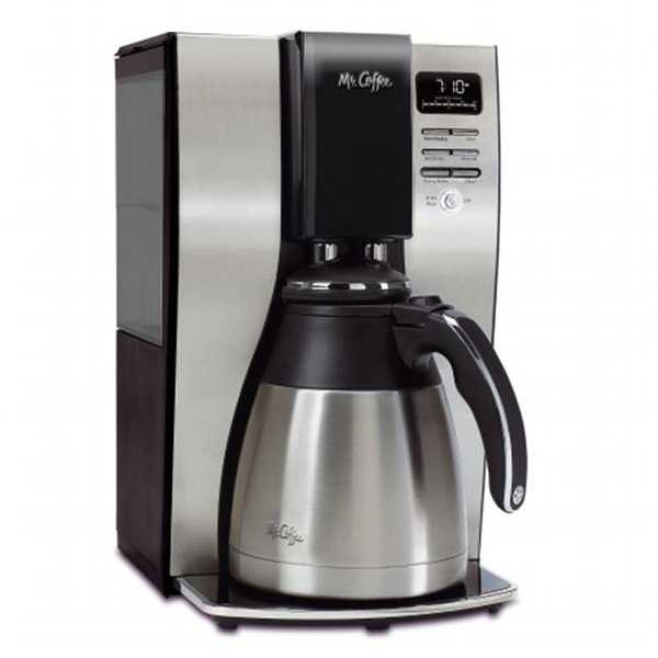 Optimal Brew 10-Cup Thermal Programmable Coffeemaker, Black &