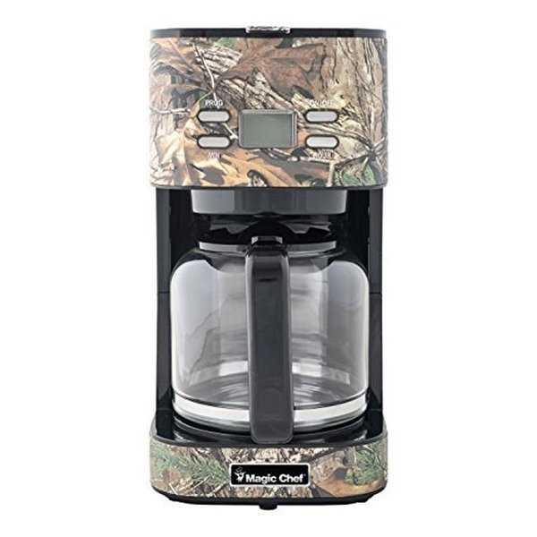 Magic MCL12CMRT 12 Cup Coffee Maker, Realtree Camo