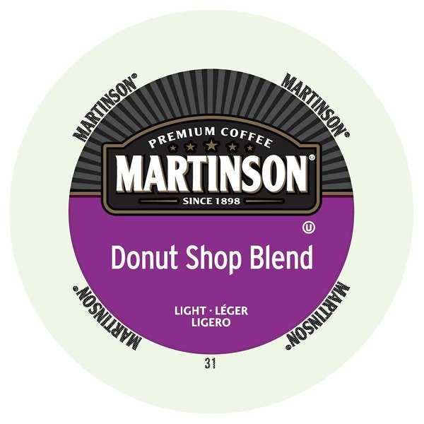 Martinson Coffee Donut Shop, RealCup Portion Pack for Keurig K-Cup Brewers